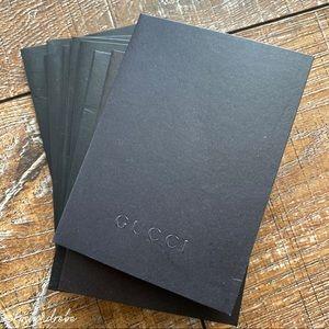 Gucci receipt envelopes